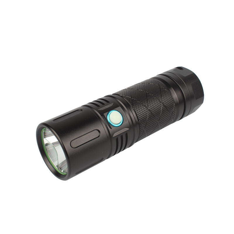 XANES XD-FL6 SST40 2800LM Brignt 500m Long Ranges USB Rechargeable 18650 LED Waterproof Flashlight Lantern Lamp Torch Spotlight
