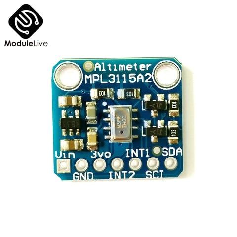 Sensor de Altitude V2.0 para Arduino Pressão Temperatura Inteligente Mpl3115a2 I2c