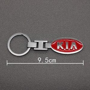 3D металлический сплав автомобильный Стайлинг модный брелок для ключей для Toyota BMW Audi Ford Nissan Fiat Chevrolet Mitsubishi KIA
