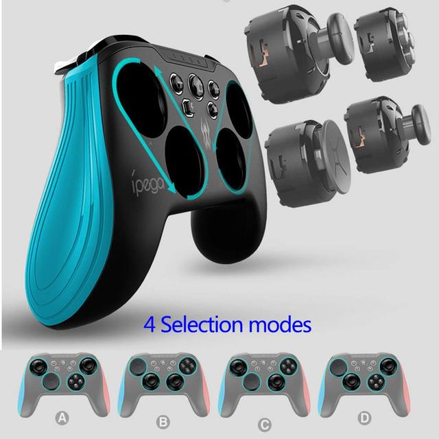 Nintend Switch Console Bluetooth Wireless Controller Joystick Gamepad 3D Changeable Key Backlight TURBO For Android Tablet PC 4