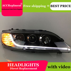 Image 5 - Cho Mazda6 2003 2014 Đèn Pha Tất Cả Các Đèn Pha LED DRL Năng Động Tín Hiệu Giấu Đầu Đèn Bi Xenon Tia Phụ Kiện Ô Tô tạo Kiểu Tóc