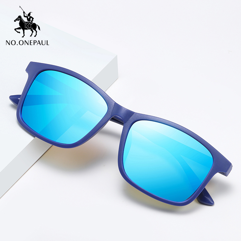 NO.ONEPAUL Goggles Women Fashion UV400 Driving Eyewear NEW Square Sunglasses Men Polarized Sun Glasses Retro Vintage