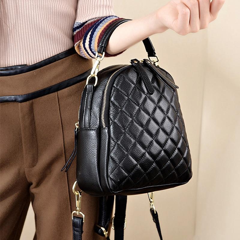 Genuine Leather Shoulder bags for Women Small Crossbody Bag Fashion Purse Luxury handbags Female Tote Messenger Bags