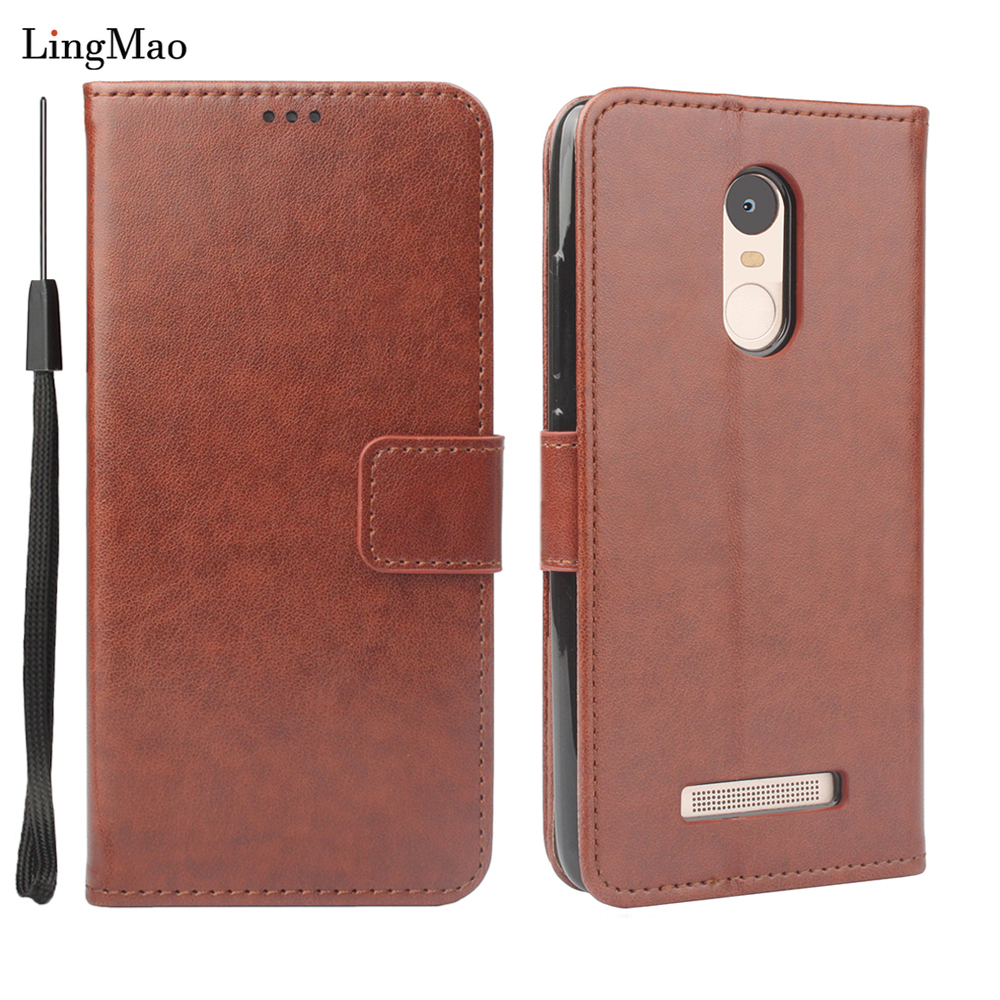 Flip leather Case For Xiaomi Redmi Note 3 Pro SE Special Edition Holder Back Cover 152 mm Global International Version Phone Bag image