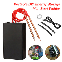 Portable 6 Gears Adjustable Mini Spot Welding Machine for 18650 Battery DIY Spot Welding Tool Kit Rechargeable Spot Welder