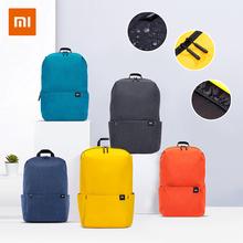 Xiaomi Mi plecak na co dzień 10L oryginalny Mi czas wolny sport torba lekki miejskich Unisex cheap Poliester CN (pochodzenie) Tłoczenie Miękka Poniżej 20 litr Miękki uchwyt Plecaki zipper Ił kieszeń