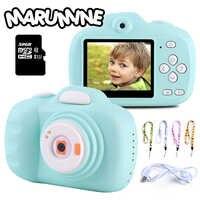 Marumine 12.0 Mega Piexl HD Bambini Fotocamera Digitale Giocattolo Elettronico Macchina Fotografica con Dual Camera AI Intelligente di Regolazione Fotografia