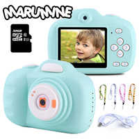 Marumine HD Kids Digital Camera 12.0 Mega Piexl Electronic Selfie Timed Shooting Camera Toys with Dual Cameras Photography
