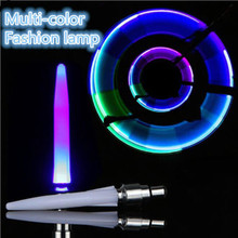 Valve-Caps Light Bike Tire Multi-Color Night-Safety Motorcycle Glow Car for Motion-Sensors