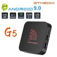 Gtmedia 4K HDR Android Tv Box Smart M3U Box 1G + 8G 2G + 16G 4G + 64G Youtube Netflix Media-player Set-Top Box TV decoder PK X96