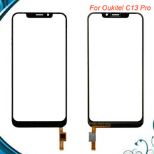 For Oukitel C13 Pro Touch Screen Panel Repair Parts For Oukitel C13 Pro Touch Panel Phone Accessories No LCD(China)