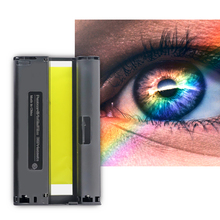 Compatible for Canon Selphy Color Ink Paper Compact Photo Printer CP1200 CP1300 CP910 CP900 3pcs Ink Cartridge KP 108IN KP-36IN casual canvas handbags portable storage bag men women case for canon selphy cp910 900 1200 digital photo printer