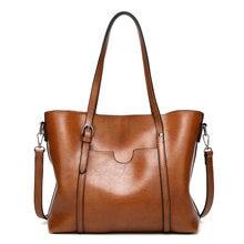 Messenger Bag European and American Fashion Ladies Handbags Shoulder Tote Bags Large-capacity Soft Leather Handbags Women's Bags