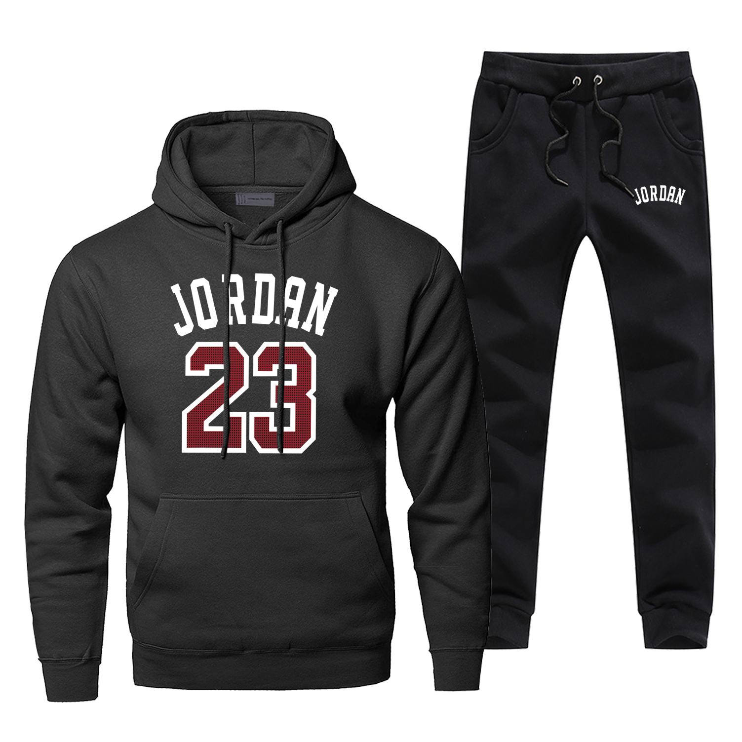 Michael Jordan Hoodies Pants Set Men 23 God Basketball Hoodie Sweatshirt Men Hoodies Pollover 2 Pcs Streetwear Male Sweatshirts
