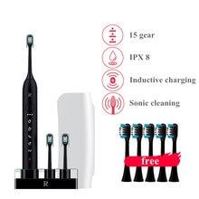 Зубная щетка электрическая звуковая с индуктивной зарядкой 10