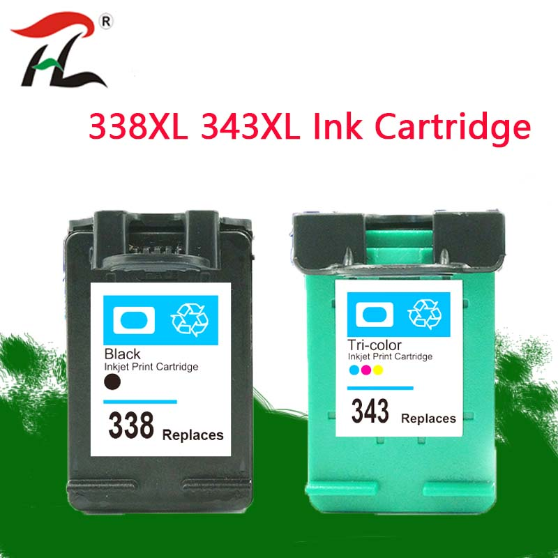 338XL 343XL Compatible 338XL <font><b>ink</b></font> cartridges for hp338 hp343 for <font><b>HP</b></font> <font><b>C3100</b></font> C3110 C3140 C3150 C3170 C3180 C3190 Officejet 7210 7310 image