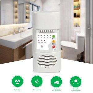 Nowy przenośny Generator ozonu oczyszczacz powietrza 220V filtr powietrza Generator jonizatora tlenu sterylizacja dezynfekcja czysty pokój