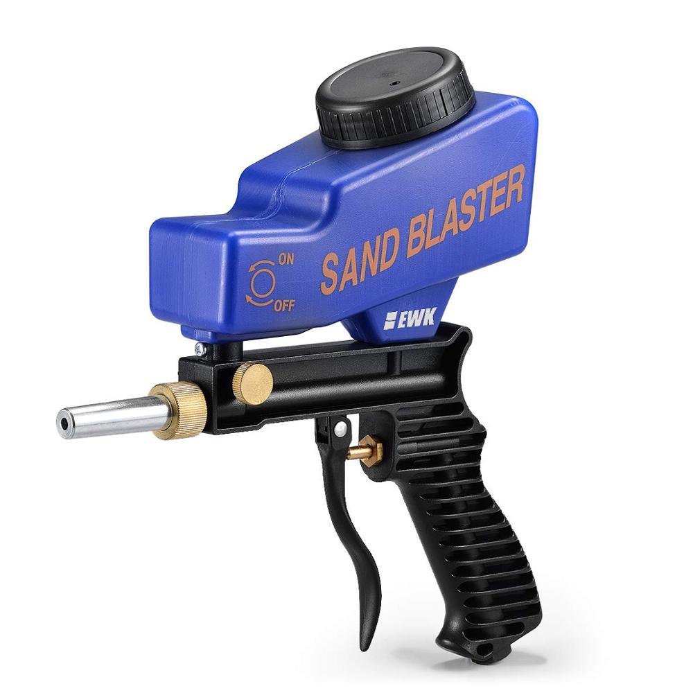 Hand Held Portable Premium Sandblaster Sand Blaster Gun Soda Media Sandblaster Gun
