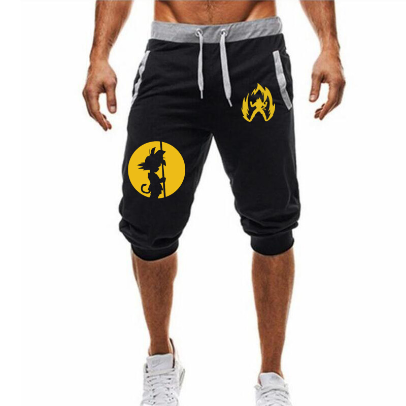 2020 New Dragon Ball Loose Sport Shorts Men Cool Summer Basketball Short Pants Hot Sale Sweatpants M-3XL