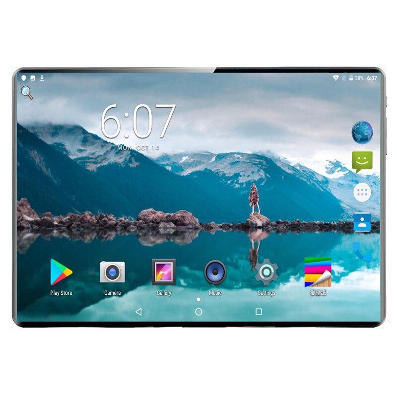 Super 2.5D Tempered Glass IPS 1920x1200 10 10.1 Inch Tablet PC 8GB RAM 128GB ROM MTK6797 Deca Core 10 Core 3G 4G LTE FDD