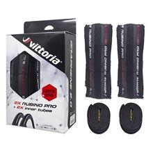 Vittoria pneu dobrável embutido pro g2.0 grafite race 2.0 700x25c com 2 tubos internos de pneus de estrada grátis