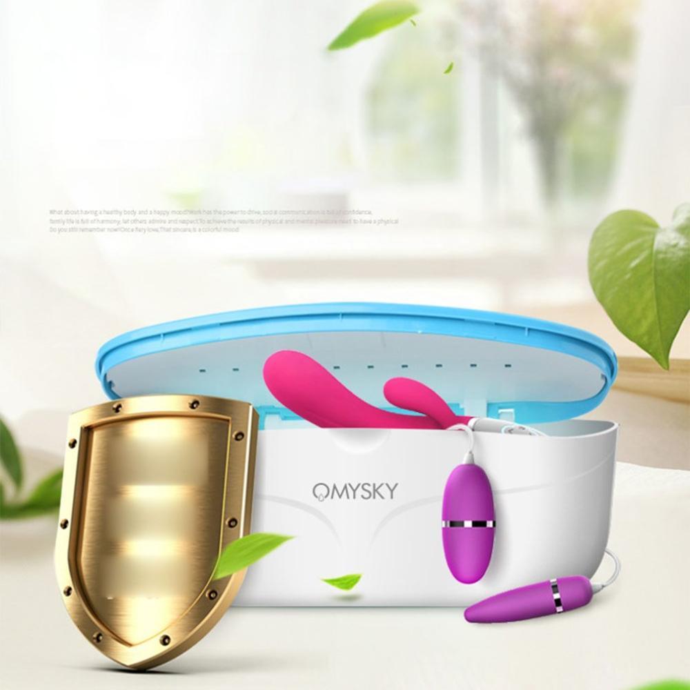 NEW Sex Toy UV Box Sterilizer Supply Disinfection Disinfector Sanitizer Box Disinfection Case Practical Instruments