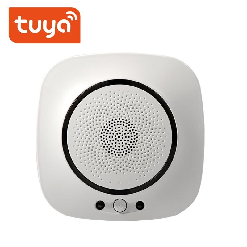 Tuya WiFi GAS LPG Leak Sensor Alarm Fire Security Detector APP Control Safety Smart Home Leakage Sensor