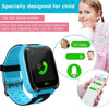 Kids Smart Watch with GPS, SIM Card Child SOS Call Locator Camera Screen for Android and IOS Phones users 1