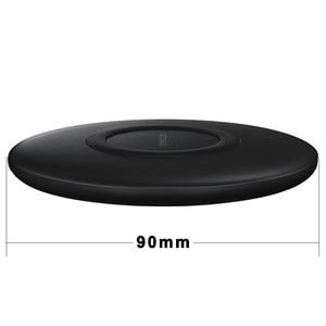 Image 3 - EP P1100 10W Veloce Qi Wireless Pad Caricabatterie per Il Samsung Galaxys S10 S10E S9 S8 S7 Bordo Più W2017 Kelly note Volte 9 8 7 Fe S Lite