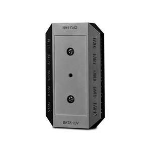 Image 3 - DEEPCOOL câble de séparation pour moyeu de ventilateur de refroidissement, 1 à 10 broches, PWM FH 10, alimenté par linterface SATA, avec indicateur LED, autocollant de montage