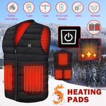 Умный нагревательный жилет 5 шт нагревательная пленка одежда