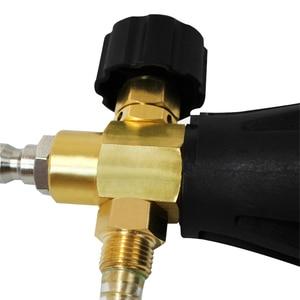 Image 5 - SPTA Car Washing Snow Foam Liquid Spray Can Spray Gun High Pressure Car Washing Machine Pump Water Gun
