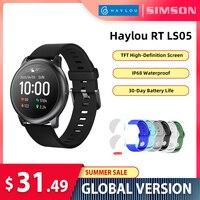 Haylou Solar Smart Uhr LS05 Herz Rate Schlaf Monitor IP68 Wasserdichte 30 Tag Batterie iOS Android Sport Männer Frauen