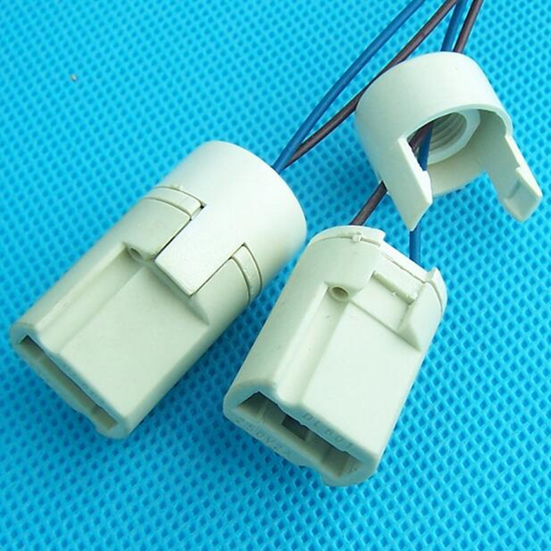 5pcs /lot High temperature ceramic lamp <font><b>socket</b></font> G9 GU10 MR16 MR11 <font><b>G4</b></font> crystal lamp bulb LED lamp beads LED lighting accessories image