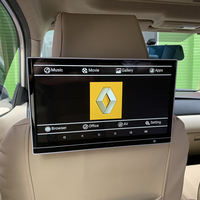 12.5 Inch Car Rear Screen Android 7.1 Headrest Monitor With HDMI output AV input For Renault Car Pillow Monitor 2PCS