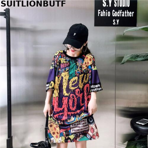 suitlionbutf-new-summer-pullover-funny-print-harajuku-t-shirt-cool-gothic-font-b-pokemon-b-font-tops-ropa-mujer-korean-style-loose-long-tshirt