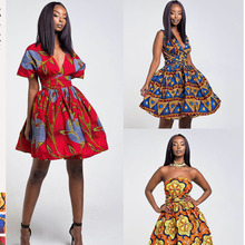 African Dresses For Women Dashiki Dress Womens 2019 Clothes Style Afropic Ankara