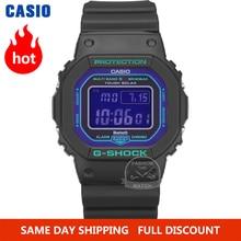 Casio умные часы мужчины г шок лучший бренд класса люкс 200 м водонепроницаемый спортивные кварцевые часы светодиодные цифровые военные водолазные мужские часы g shock солнечная Bluetooth радиоуправляемые наручные часы