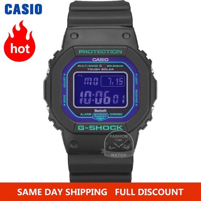 Casio smart Watch uomo g shock top luxury brand set 200m impermeabile orologio al quarzo sportivo LED digital diving militare orologio uomo g shock Solar Bluetooth radio controllato orologio da polso relogio masculino