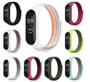 Nylon-Strap Bracelet Mi-Band Xiaomi Sports Breathable for 4-3 Band3/Sports/Wristband