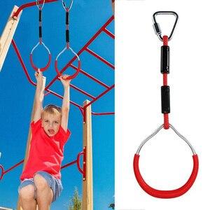 Children Climbing Ring Gymnast