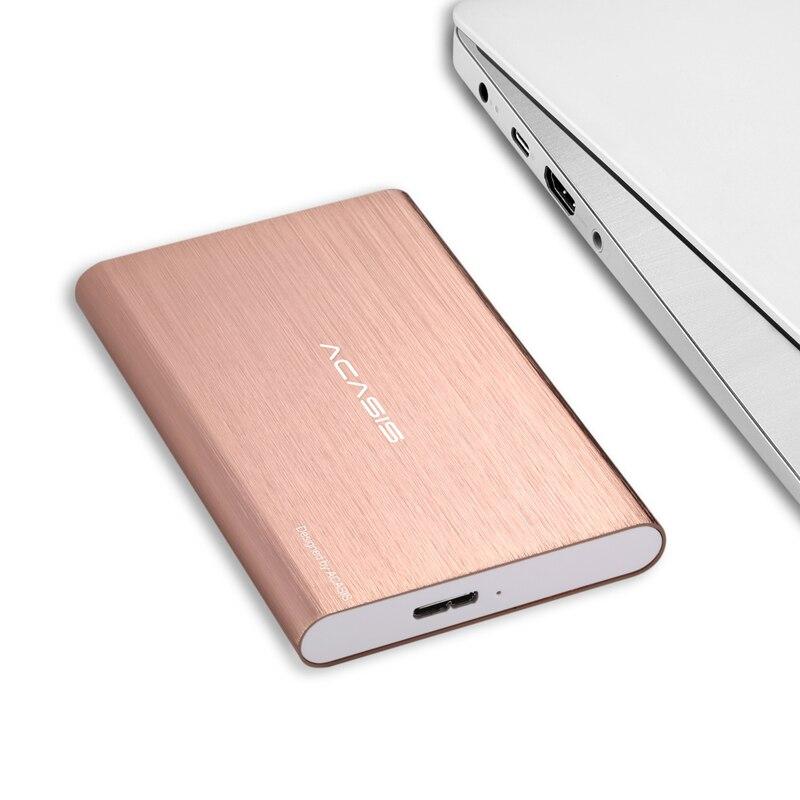 Size : 320GB USB3.0 Fast Transfer 160G//250G//320G//500G//1T//2T Large-Capacity Memory Mobile Hard Drive Sliver Hard Disk