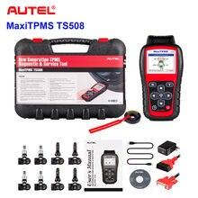 Autel tpms ferramenta de substituição tpms ferramenta de programação maxitpms ts508k pressão dos pneus 315/433mhz tpms ativação do sensor de pneus
