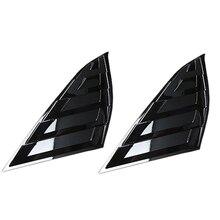 ABS вид заднего окна жалюзи крышка отделка заднего солнцезащитного козырька для бокового окна для Honda Accord 18-19