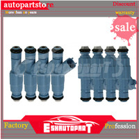 (Set 8) Fuel Injector 0280155849 For Ford Taurus Jeep Dodge Chrysler 3.0 4.7 5.0 02801 55849