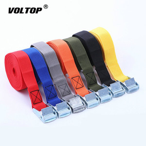 Image 3 - 3 Meter Buckle Tie Down Belt Cargo Straps for Car Motorcycle Bike with Metal Buckle Tow Rope Strong Ratchet Belt for Luggage Bag