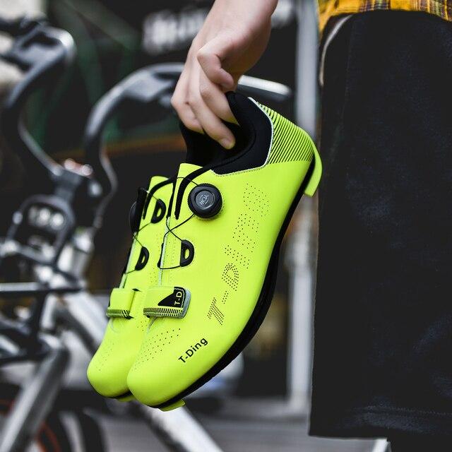 2020 nova upline sapatos de ciclismo de estrada dos homens sapatos de bicicleta de estrada ultraleve tênis de auto-bloqueio profissional respirável 1