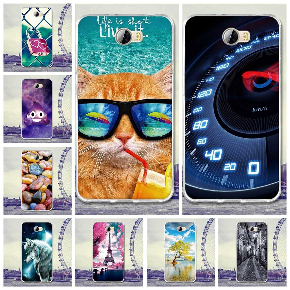 For Huawei Y5 II Case Cover For Huawei Honor 5A LYO-L21 Funda Case Silicone Coque For Honor 5A Y5 2 Y5 II CUN-U29 Cover 5.0