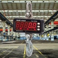 1000kg/2000lb Hanging Scale Digital Industrial Heavy Duty Crane Scale Smart High Accuracy Electronic C6UE