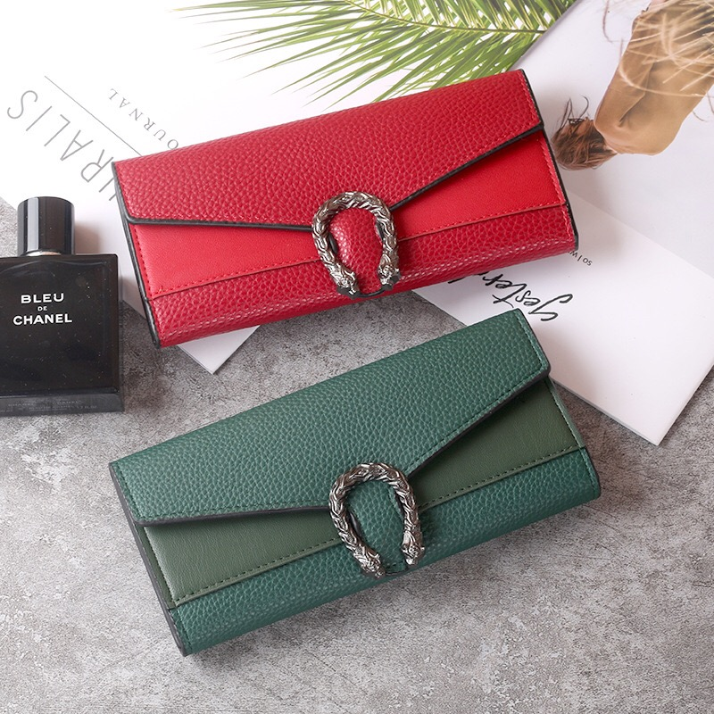 2020 Women's Wallet Purse Ladies New Fashion High Quality Long Wallets Cash Card Holder Classic Vintage Coin Pocket Female